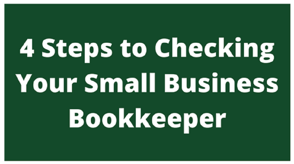 Check Your Bookkeeper