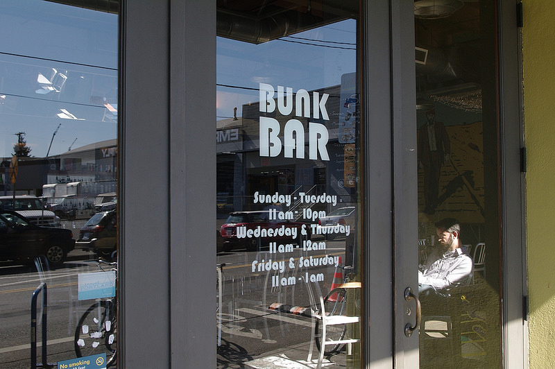 Bunk Sandwiches entrance